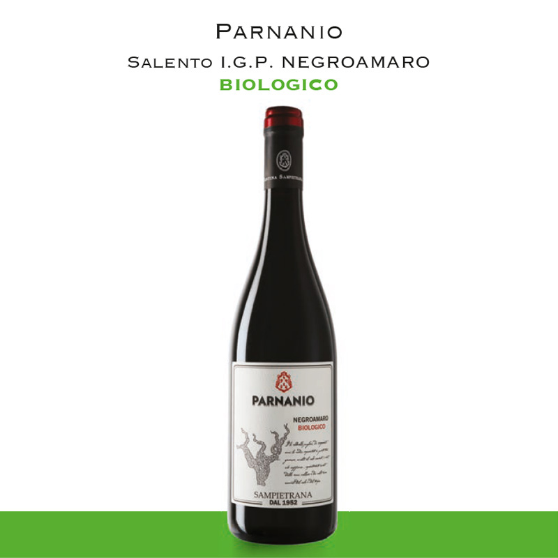Parnanio Salento I.G.P. Negroamaro | Biologico