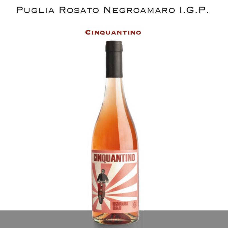 Puglia Rosato Negroamaro I.G.P. | Cinquantino