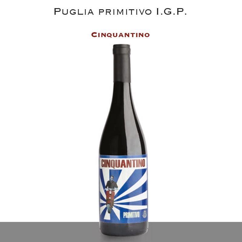 Puglia Primitivo I.G.P. | Cinquantino