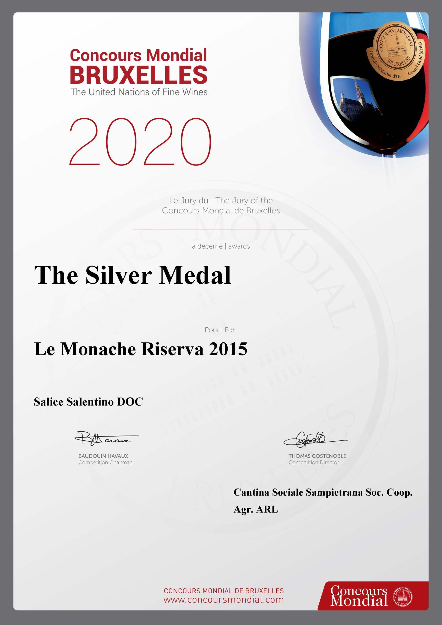 le monache 2015 silver