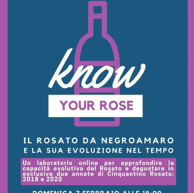 Know Your Rosé – Evento On Line, 7 febbraio 2021